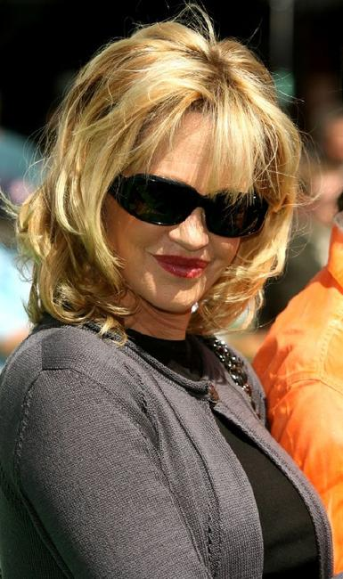 Melanie Griffith at the premiere of
