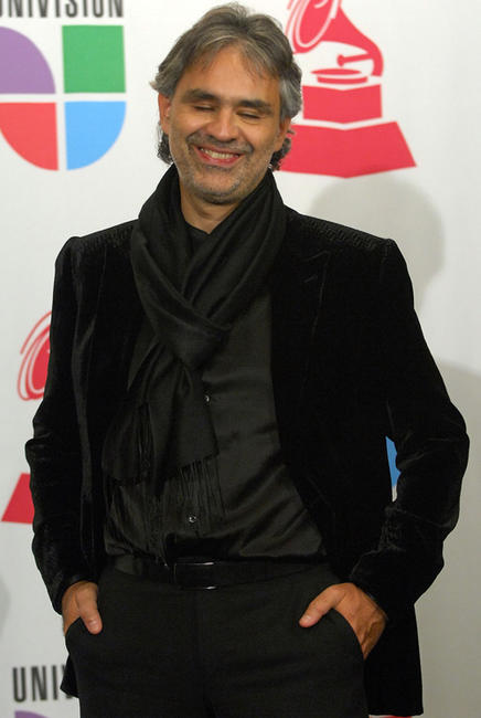 Andrea Bocelli at the 8th Annual Latin GRAMMY Awards in Las Vegas.