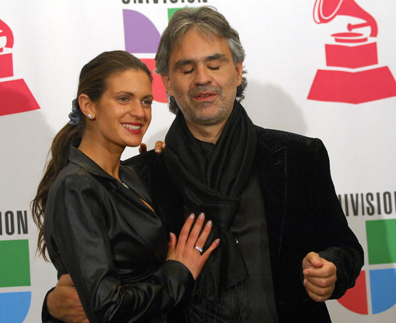 Andrea Bocelli and Guest at the 8th Annual Latin GRAMMY Awards in Las Vegas.