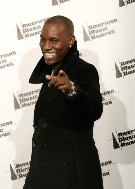 Tyrese Gibson at the  American Music Awards.