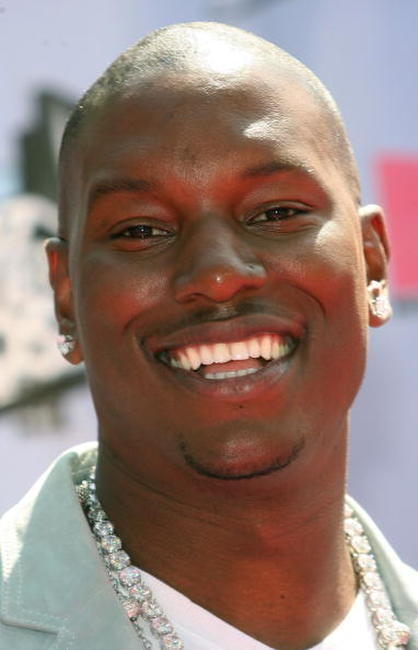 Tyrese Gibson at the 2007 MTV Movie Awards.