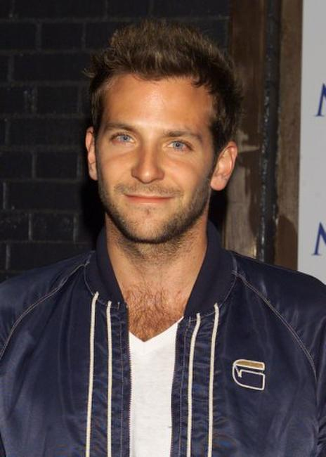 Bradley Cooper at the Maxim Magazine party in honor of photographer Nigel Parry.