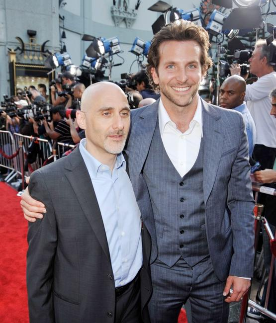 Jeff Robinov and Bradley Cooper at the premiere of
