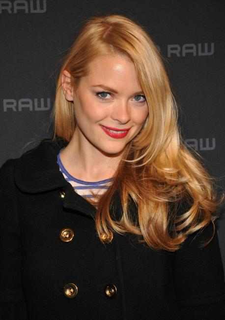 Jaime King at the G Star Fall 2008 fashion show during the Mercedes-Benz Fashion Week Fall 2008.