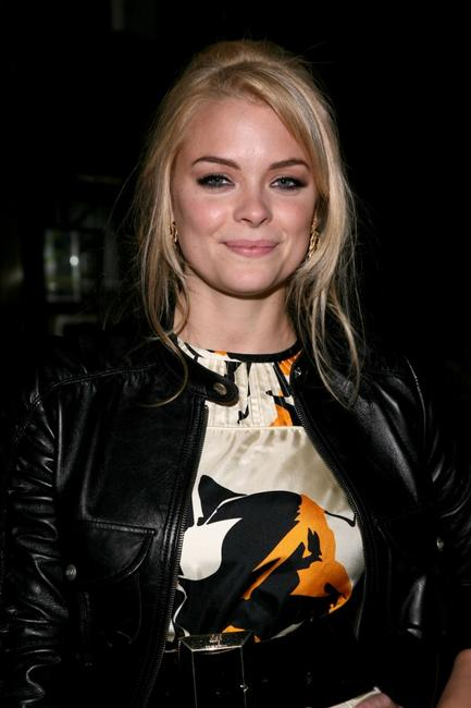 Jaime King at the Chloe Sevigny opening ceremony collection during the Mercedes-Benz Fashion Week Fall 2008.