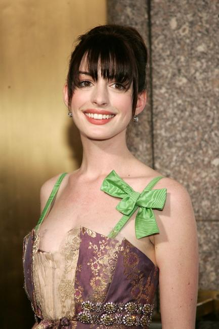 Anne Hathaway at the 59th Annual Tony Awards.
