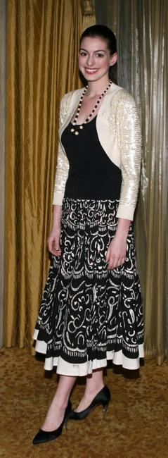 Anne Hathaway at the Kids of Hope Tsunami Relief Gala.