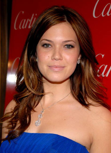 Actress Mandy Moore at the Cartier holiday celebration in honor of the Cartier grand re-opening in New Jersey.