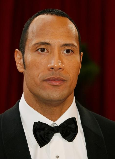 The Rock at the 80th Annual Academy Awards.