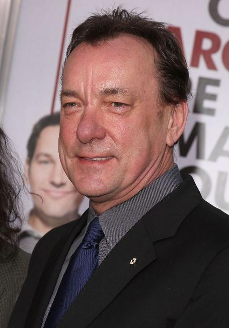 Neil Peart at the premiere of
