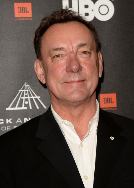 Neil Peart at the 28th Annual Rock And Roll Hall Of Fame Induction Ceremony.
