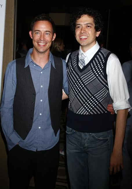 Tom Cavanagh and Geoffrey Arend at the screening of
