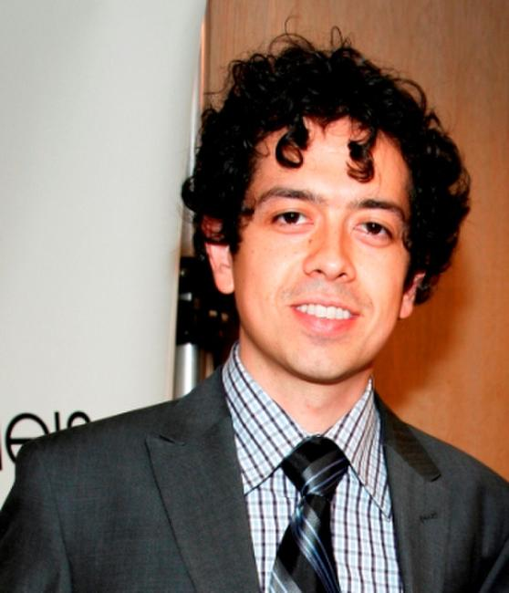 Geoffrey Arend at the Bloomingdale's men's floor re-opening celebration.
