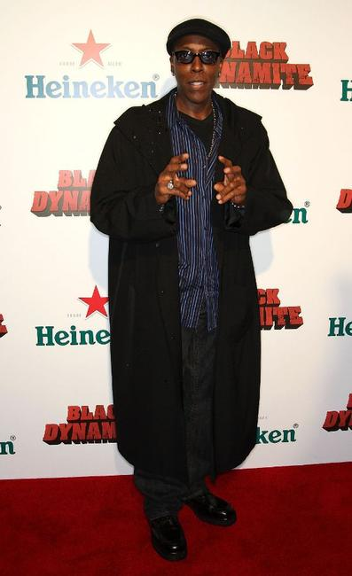Arsenio Hall at the premiere of