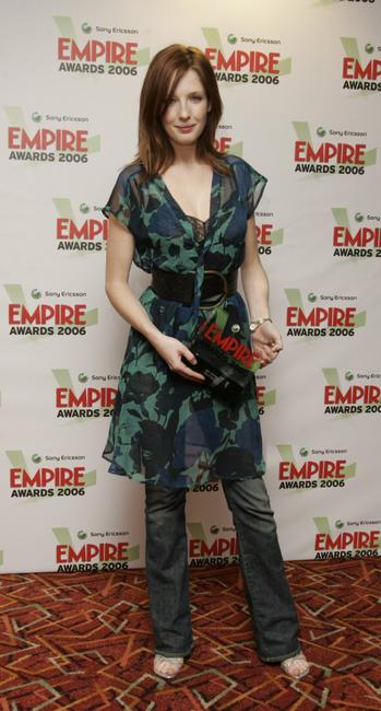 Kelly Reilly at the Sony Ericsson Empire Film Awards 2006.