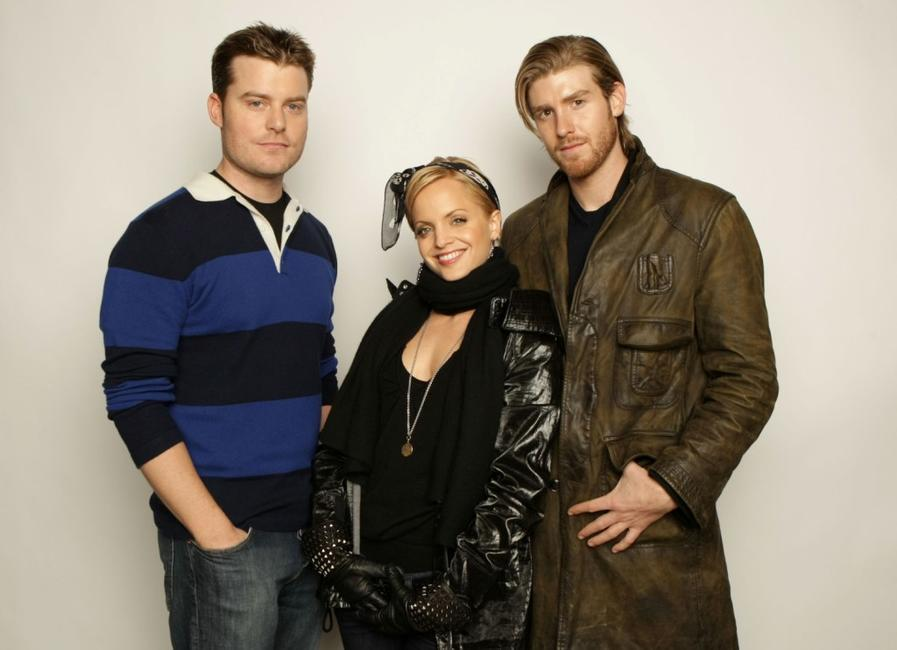 Rawson Marshall Thurber, Mena Suvari and Jon Foster at the 2008 Sundance Film Festival.