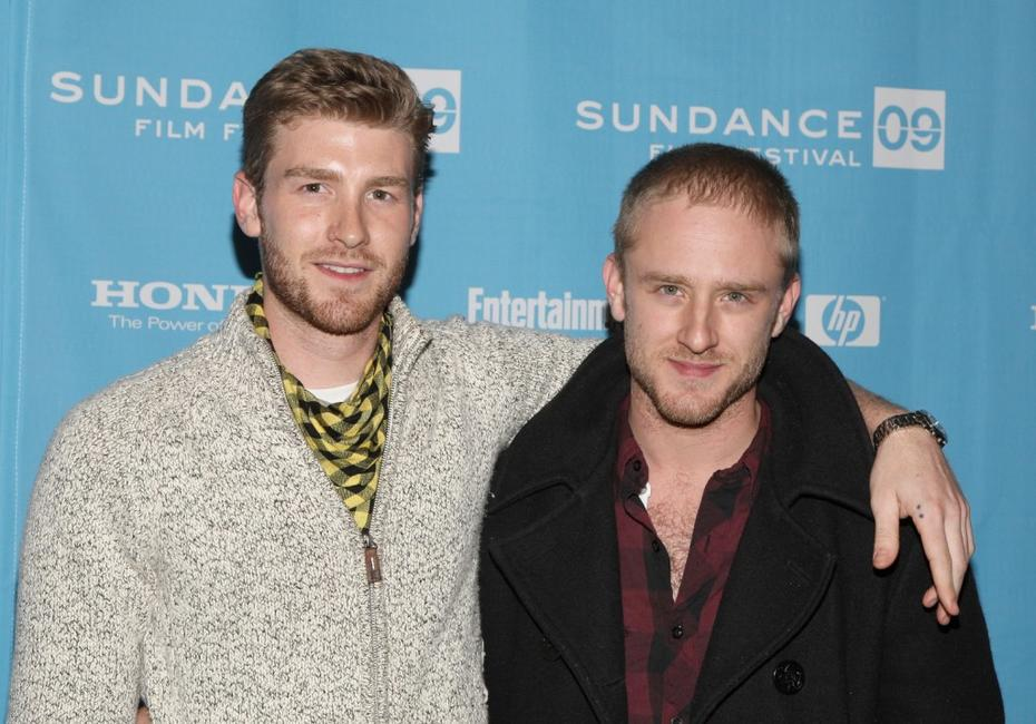 Jon Foster and Ben Foster at the premiere of