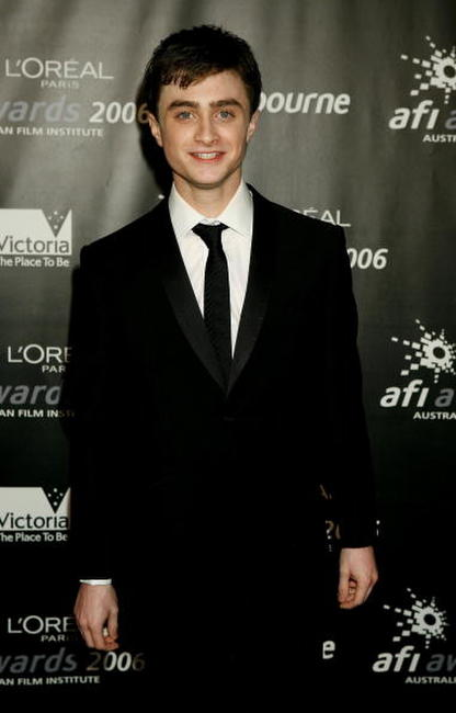 Daniel Radcliffe at the AFI Awards.