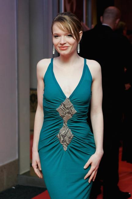 Karoline Herfurth at the ceremony of the Diva Awards 2007.