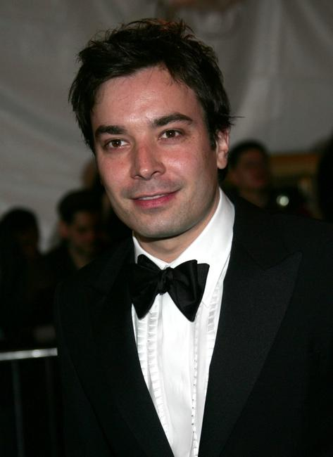 Jimmy Fallon at the MET Costume Institute Gala celebrating Chanel.