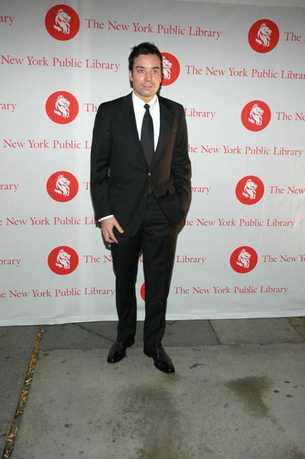 Jimmy Fallon at the New York Public Library's 2007 Lions Benefit.