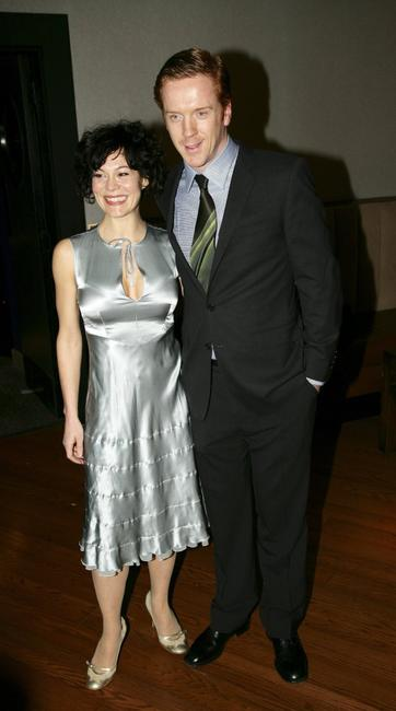 Helen McCrory and Damian Lewis at the UK premiere of