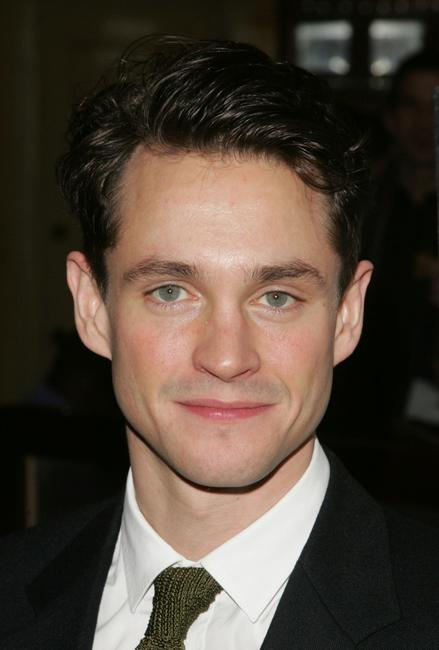 Hugh Dancy at the after party for the opening night of the Broadway play