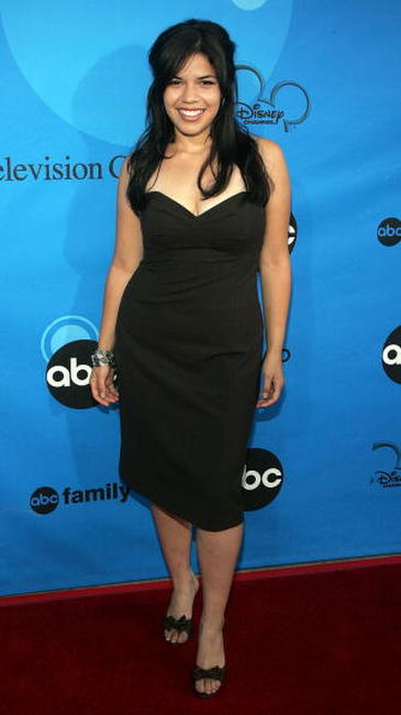 America Ferrera at the Disney - ABC Television Group All Star Party in Pasadena, California.