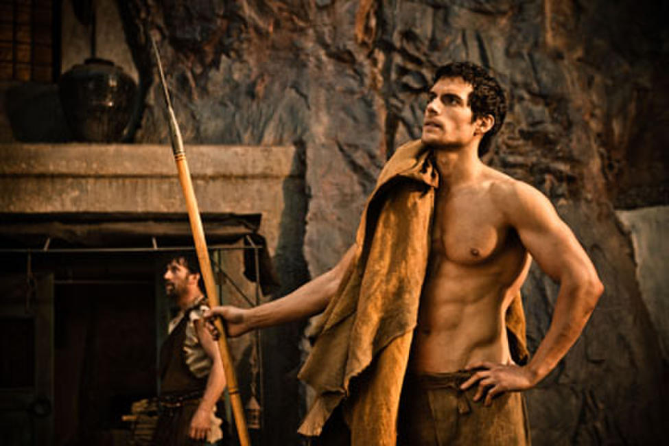 Henry Cavill as Theseus in ``Immortals.''