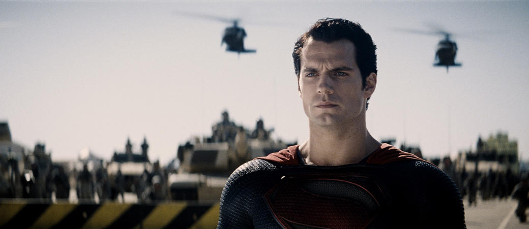 Henry Cavill as Superman in