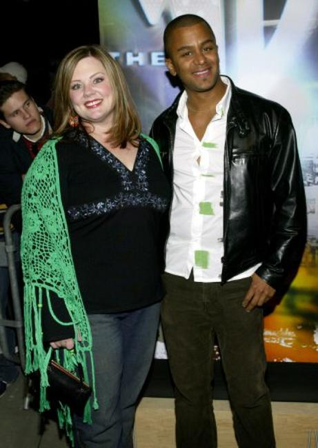 Melissa McCarthy and Yanic Truesdale at the WB Network's 2003 Winter Party.