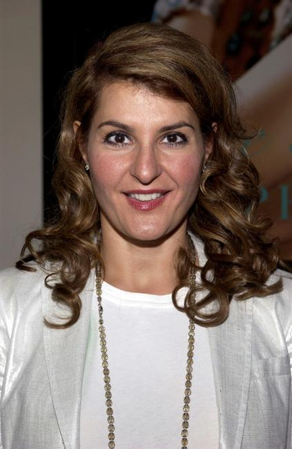 Nia Vardalos at the National Resources Defense Council Action Forum and Ralph Lauren Fragrances BioGem EcoSalon luncheon.