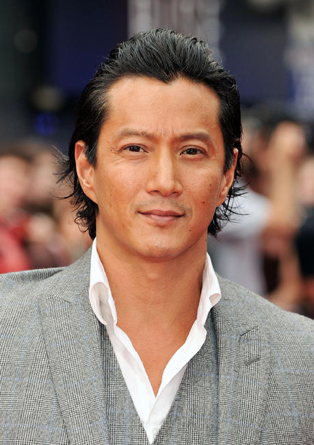 Will Yun Lee at the UK premiere of
