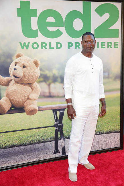 Dennis Haysbert at the New York premiere of