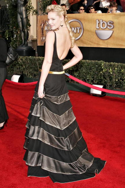 Katherine Heigl at the 12th annual Screen Actors Guild Awards in L.A.