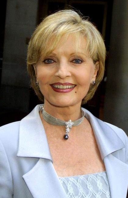 Florence Henderson at the California Design College for the 11th Annual Graduation Fashion Show.