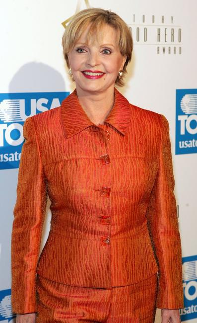 Florence Henderson at USA Today's First Hollywood Hero Award Gala.