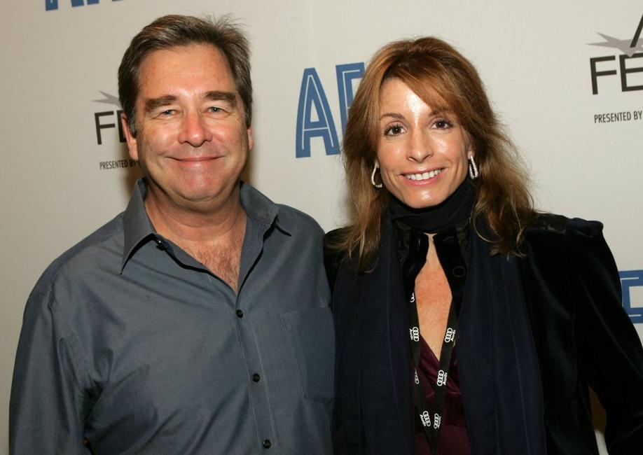 Beau Bridges and Dana Dubobsky at the promotion of
