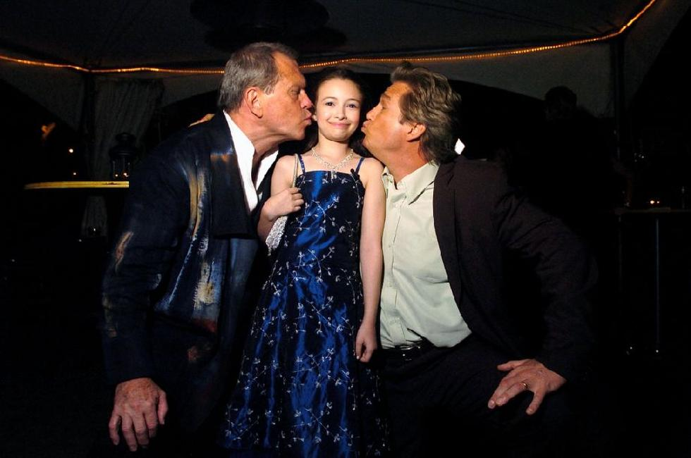 Jeff Bridges, Terry Gilliam and Jodelle Ferland at the 30th Annual Toronto International Film Festival.