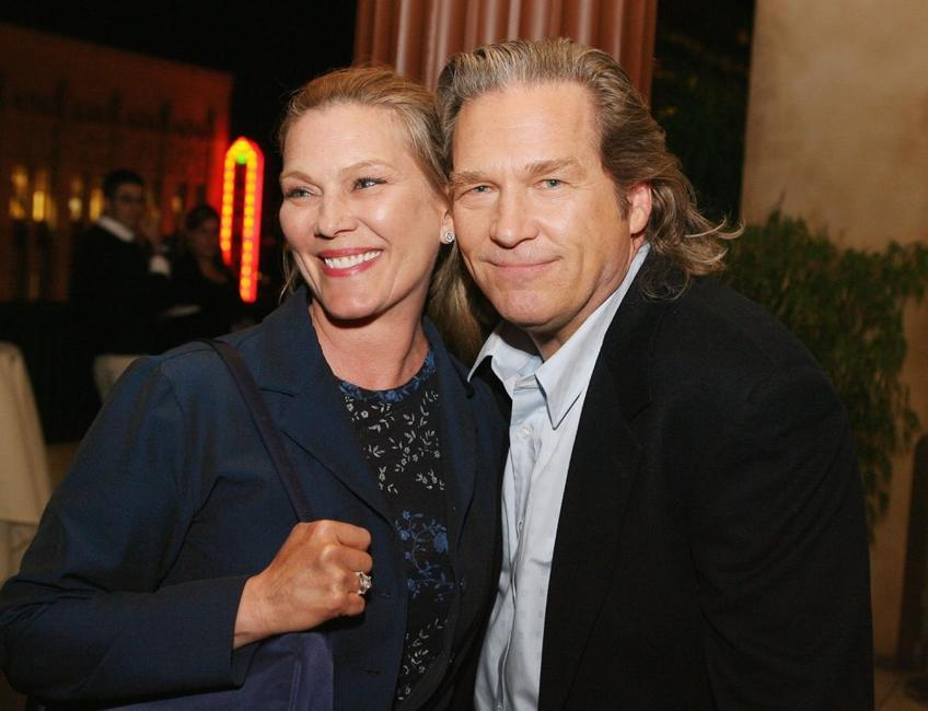 Jeff Bridges and his wife Susan at the Screening of Touchstone's