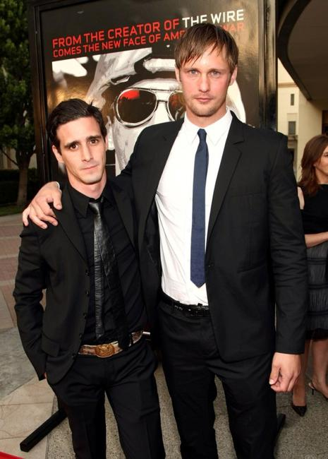 James Ransone and Alexander Skarsgard at the premiere of