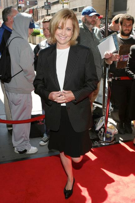Catherine Hicks at the WB Upfront at Madison Square Garden.