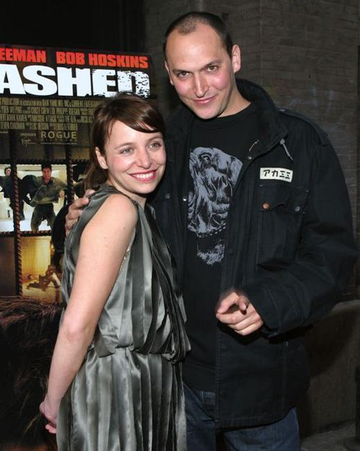 Louis Leterrier and Guest at the special screening of