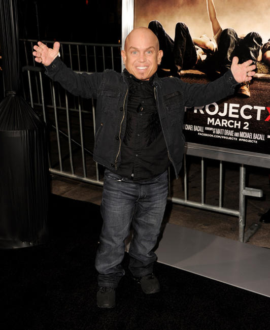 Martin Klebba at the California premiere of