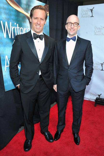 Nat Faxon and Jim Rash at the 2012 Writers Guild Awards in California.
