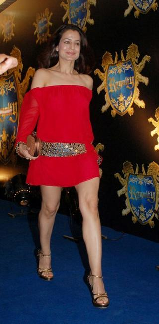 Amisha Patel at the launch of Club Royalty in Mumbai.