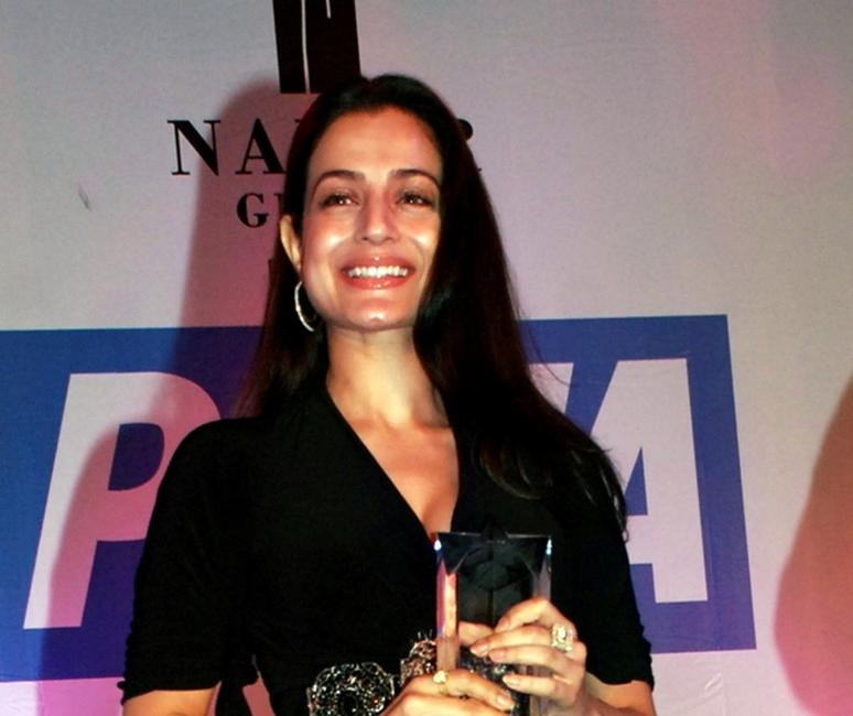 Amisha Patel at the Asias Sexiest Vegetarian Awards during the 10th Anniversary Gala.