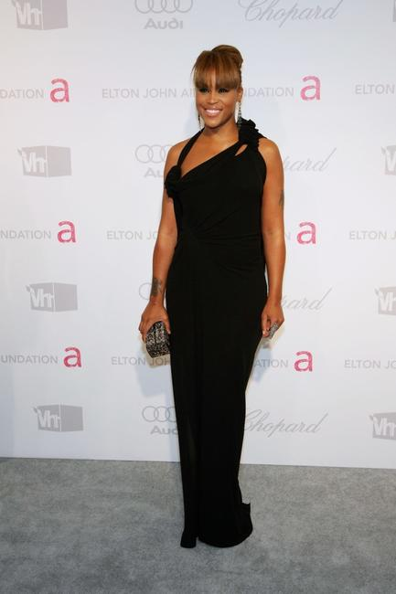Eve at the 15th Annual Elton John AIDS Foundation Academy Awards viewing party.