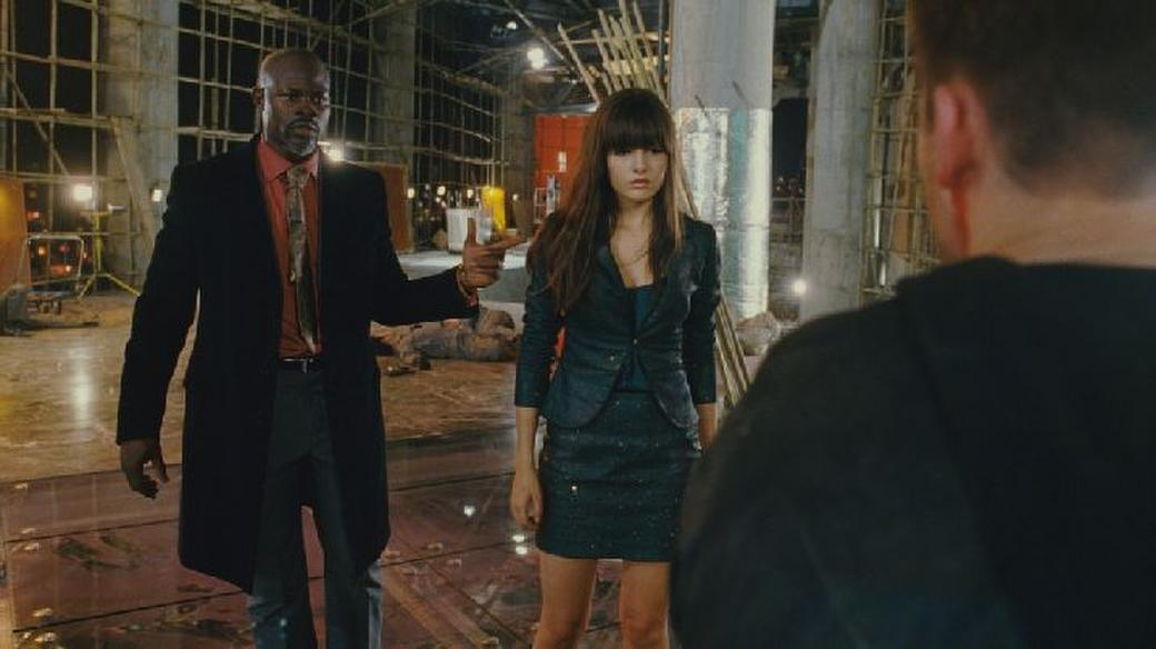 Djimon Hounsou and Camilla Belle in