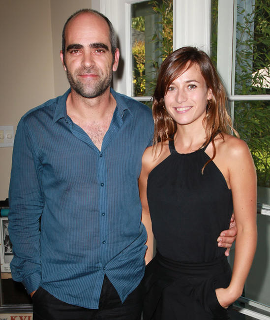 Luis Tosar and Marta Etura at the Recent Spanish Cinema Series 2010 press announcement in California.